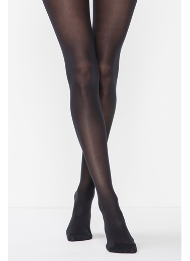 Penti Kadın Siyah Akıllı Mıkro 40  Külotlu Çorap AKILLI MIKRO 40 KLT. Siyah